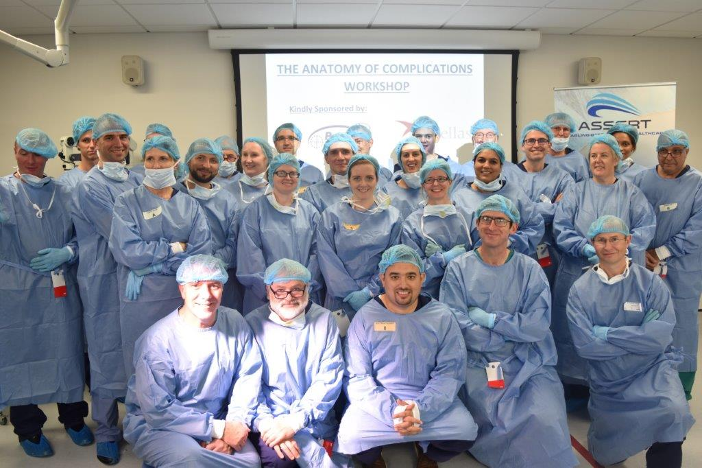 Anatomy of Complications Workshop held for the first time in Europe at ASSERT